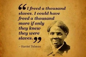 Harriet Tubman, the Moses of her people