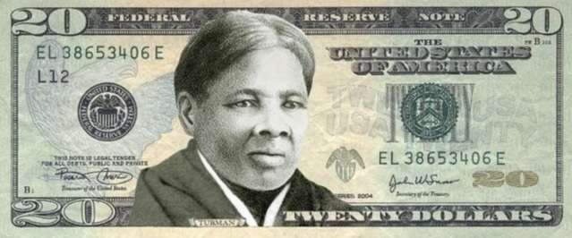 This is how the new $20 bill might look like in 2020.